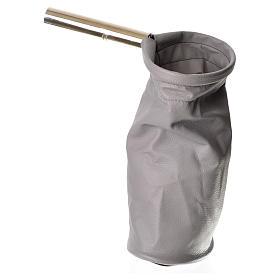 Bolsa para ofrendas (limosna) gris s2