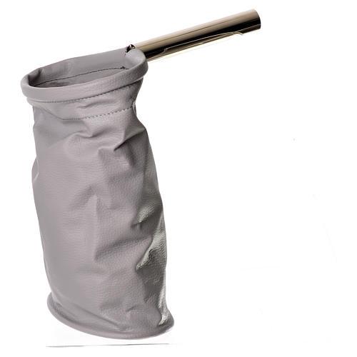 Bolsa para ofrendas (limosna) gris 1