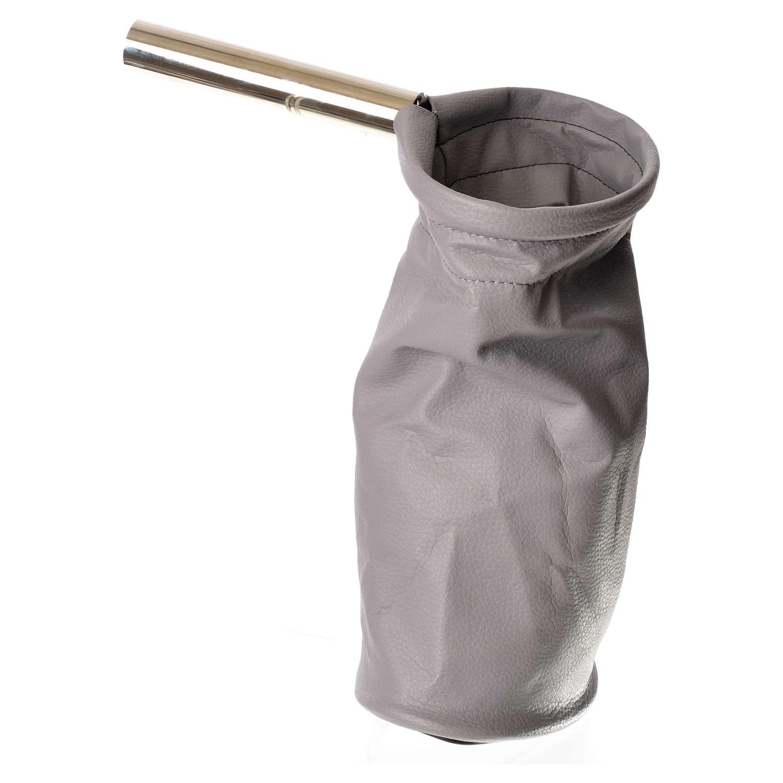 Sacco per questua (elemosine) grigio 3