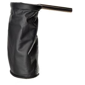 Bolsa para ofrendas (limosna) dorado y negro reversible s3