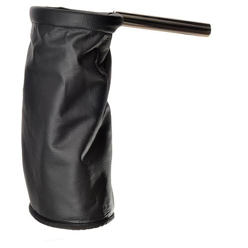 Bolsa para ofrendas (limosna) dorado y negro reversible 3