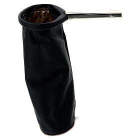 Alms bag, reversible golden and black s2