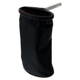Alms bag, reversible golden and black s4