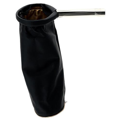 Alms bag, reversible golden and black 2