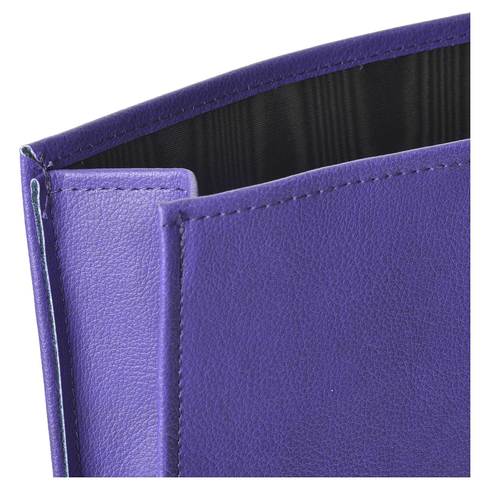 Enveloppe rigide pour offrandes violet 3