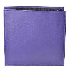 Enveloppe rigide pour offrandes violet s1