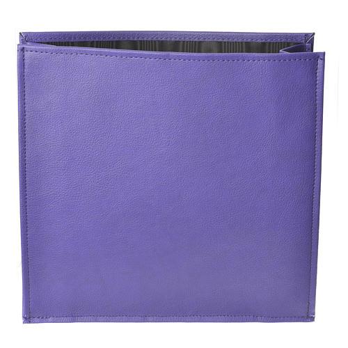 Enveloppe rigide pour offrandes violet 1