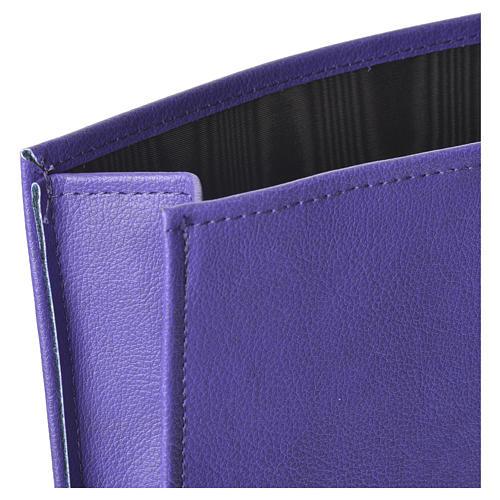 Enveloppe rigide pour offrandes violet 2