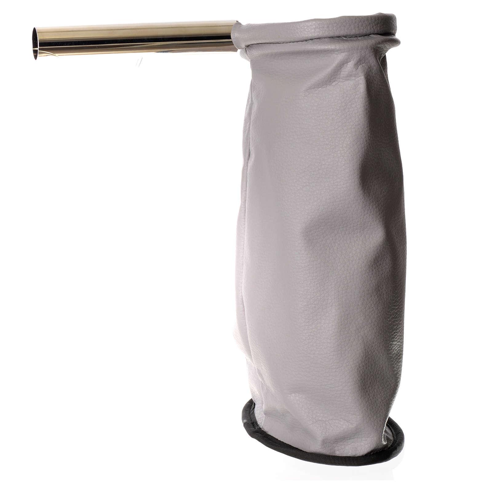 Bolsa para ofrendas con candado gris 3