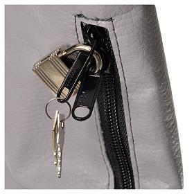 Bolsa para ofrendas con candado gris s3