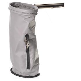 Accessori vari: Borsa portaelemosina con lucchetto grigia