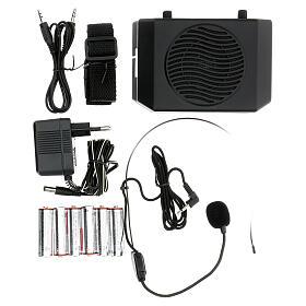 Amplificatore portatile per celebrazioni s1
