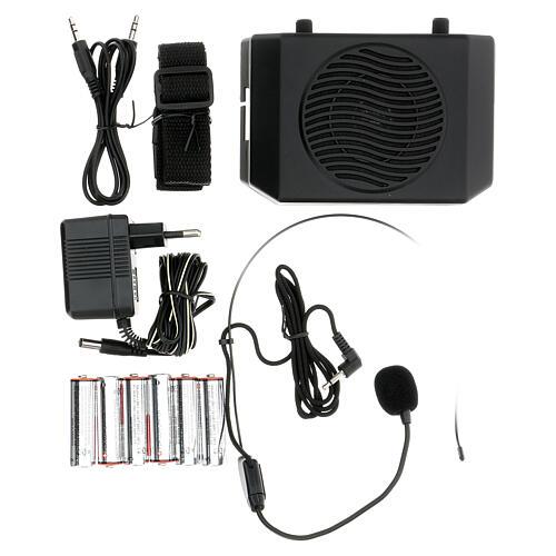 Amplificatore portatile per celebrazioni 1