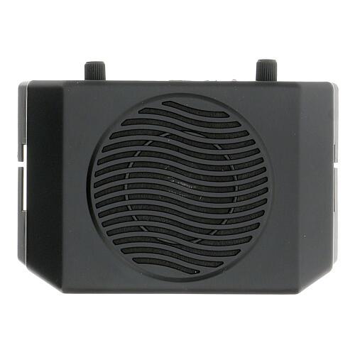Amplificatore portatile per celebrazioni 2