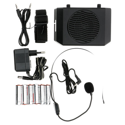 Portable amplifier for celebrations 1