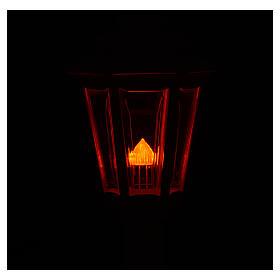 Lampione da processione bianco manico legno 2 mt s4