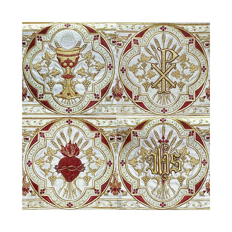 Dais procession 130x160 cm Sacré Coeur 3