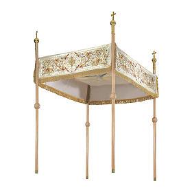 Dais procession 130x160 cm Sacré Coeur s1
