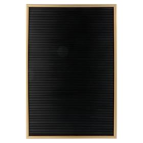 Tableau en résine avec lettres composables 45x30 cm s1