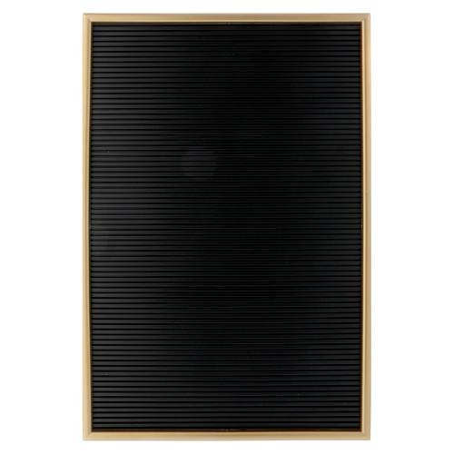Tableau en résine avec lettres composables 45x30 cm 1