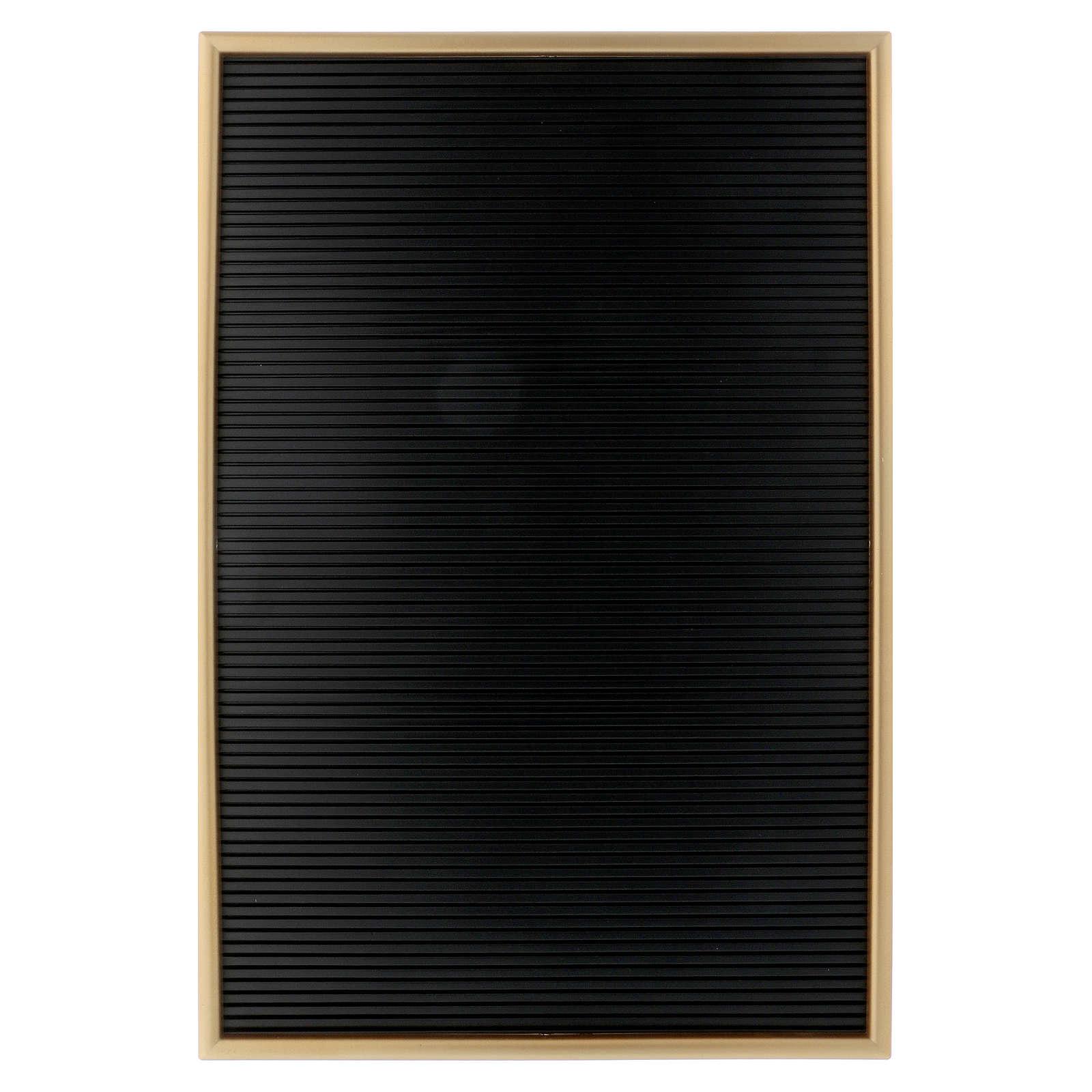 Lavagnetta in resina con lettere componibili 45x30 cm  3