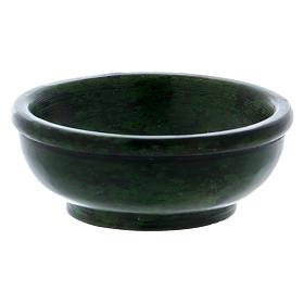 Ciotolina portaincenso pietra ollare verde 7,5 cm s2