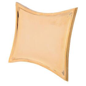 Piattino concavo ottone dorato lucido s2