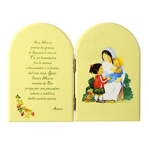 Pala libro verde Ave maria Azur 1