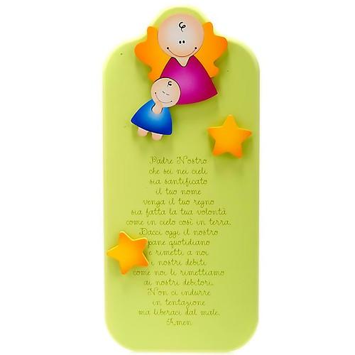 Pala Azur Padre Nostro angioletti e stelle 1