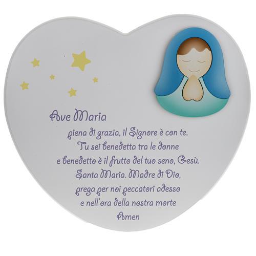 Corazón cántico Ave María Azur Loppiano 1