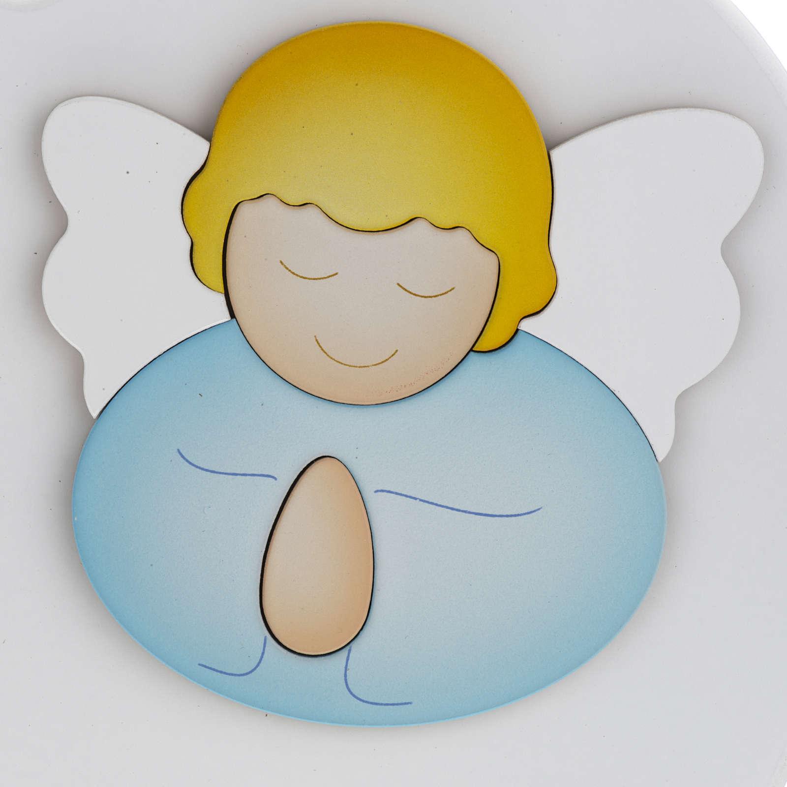 Cuore cantico Angelo di Dio bianco Azur Loppiano 3