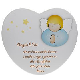 Cuore cantico Angelo di Dio bianco Azur Loppiano s1
