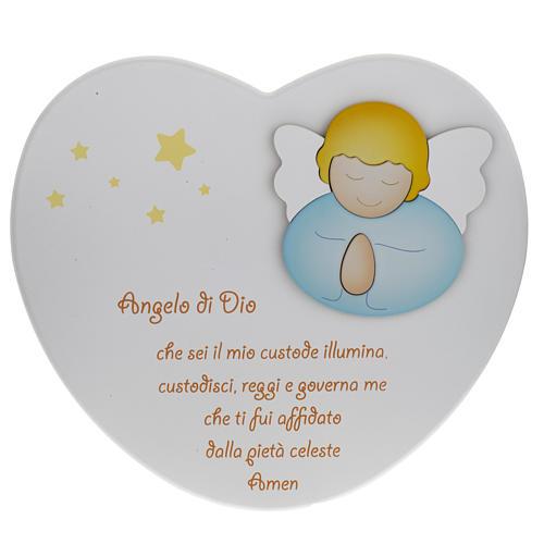 Cuore cantico Angelo di Dio bianco Azur Loppiano 1