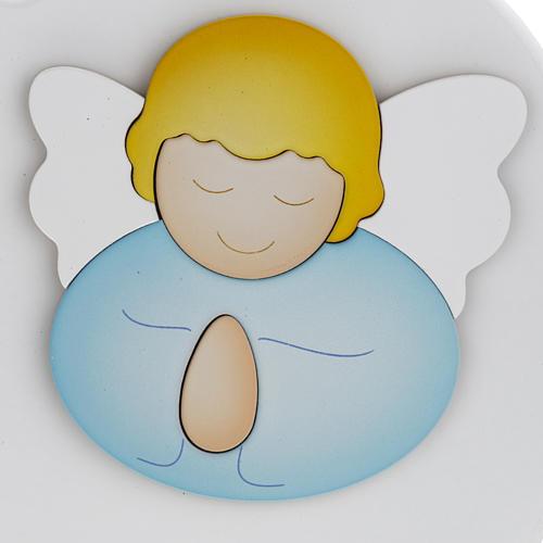 Cuore cantico Angelo di Dio bianco Azur Loppiano 2