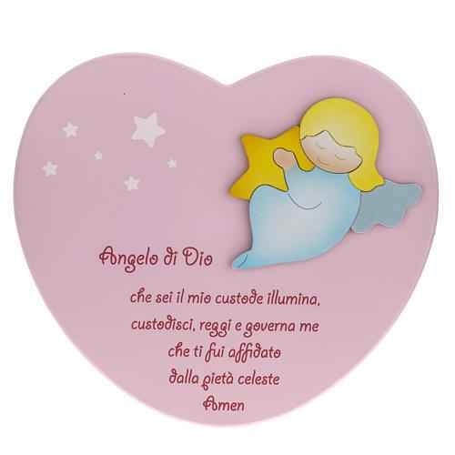 Cuore cantico Angelo di Dio rosa Azur Loppiano 1
