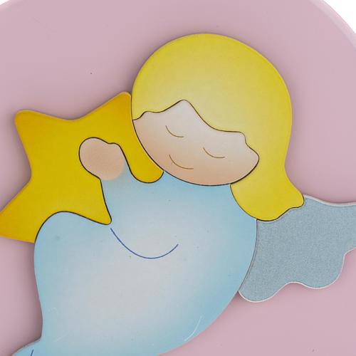Cuore cantico Angelo di Dio rosa Azur Loppiano 2