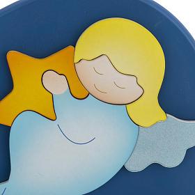 Corazón cántico estrellitas azul Azur Loppiano s2