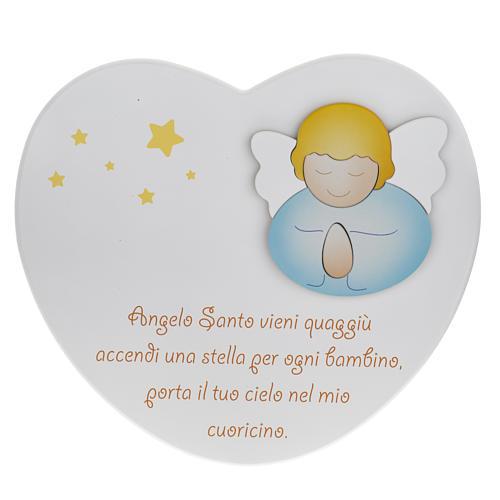 Cuore cantico Angelo Santo Azur Loppiano 1