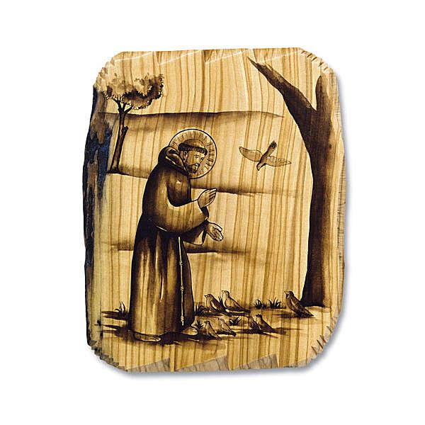 Saint Francis of Assisi- Sermon to the birds 25x31 3
