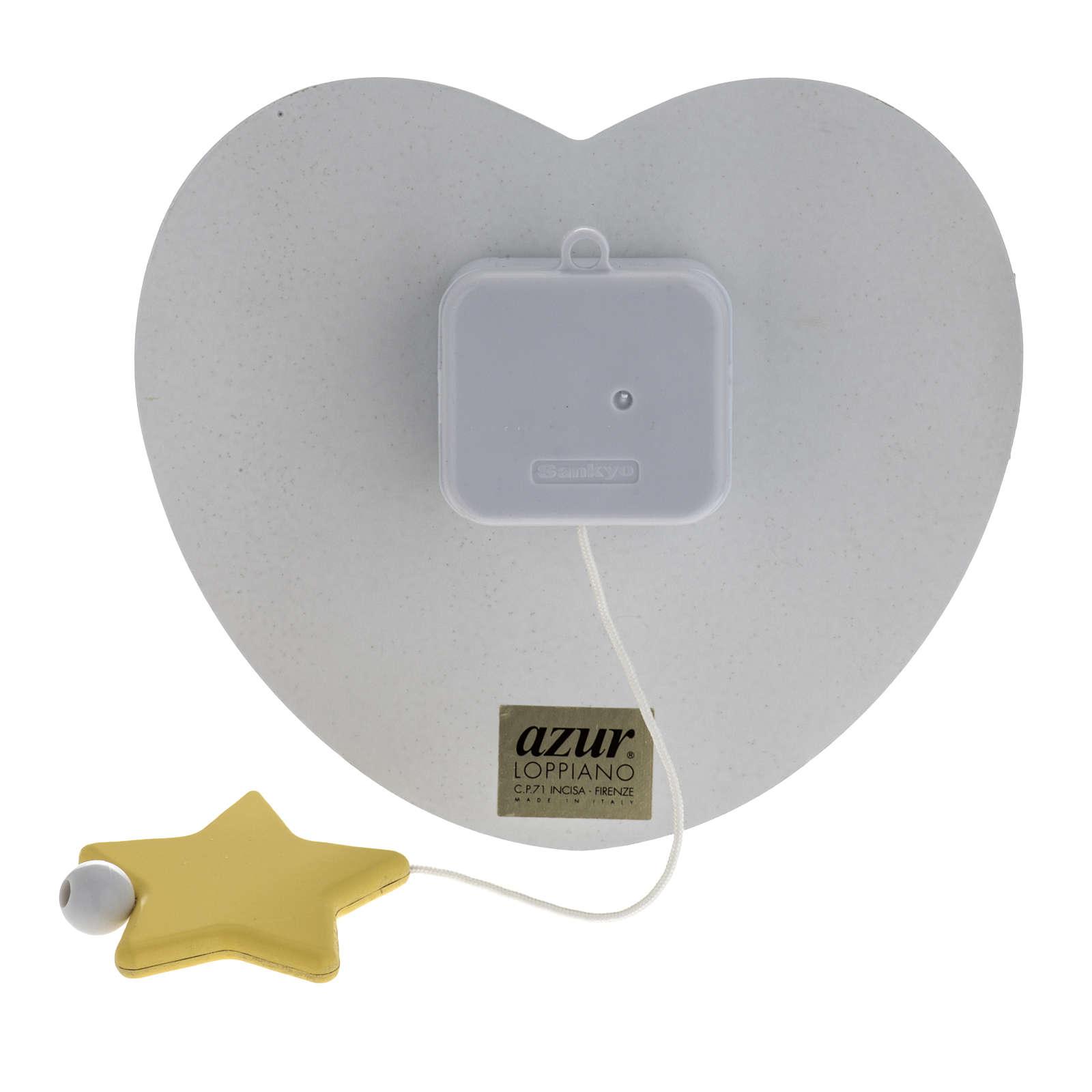 Carillon cuore angelo stella celeste Azur Loppiano 3