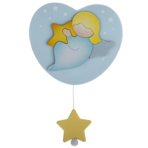 Carillon cuore angelo stella celeste Azur Loppiano 1