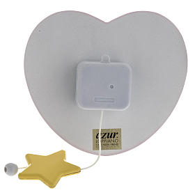 Carillon cuore angelo stella rosa Azur Loppiano s3