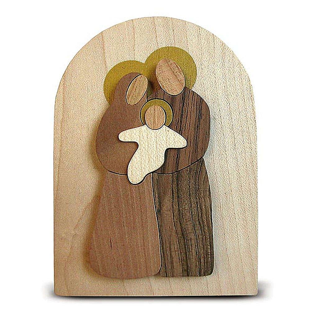 Bomboniera Azur pala legno Sacra Famiglia 3