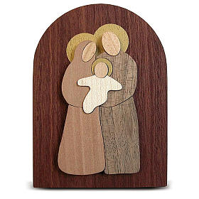 Bomboniera Azur pala legno Sacra Famiglia s2