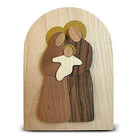 Bomboniera Azur pala legno Sacra Famiglia s3