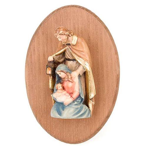 Cuadro con estatua Sagrada Familia 1