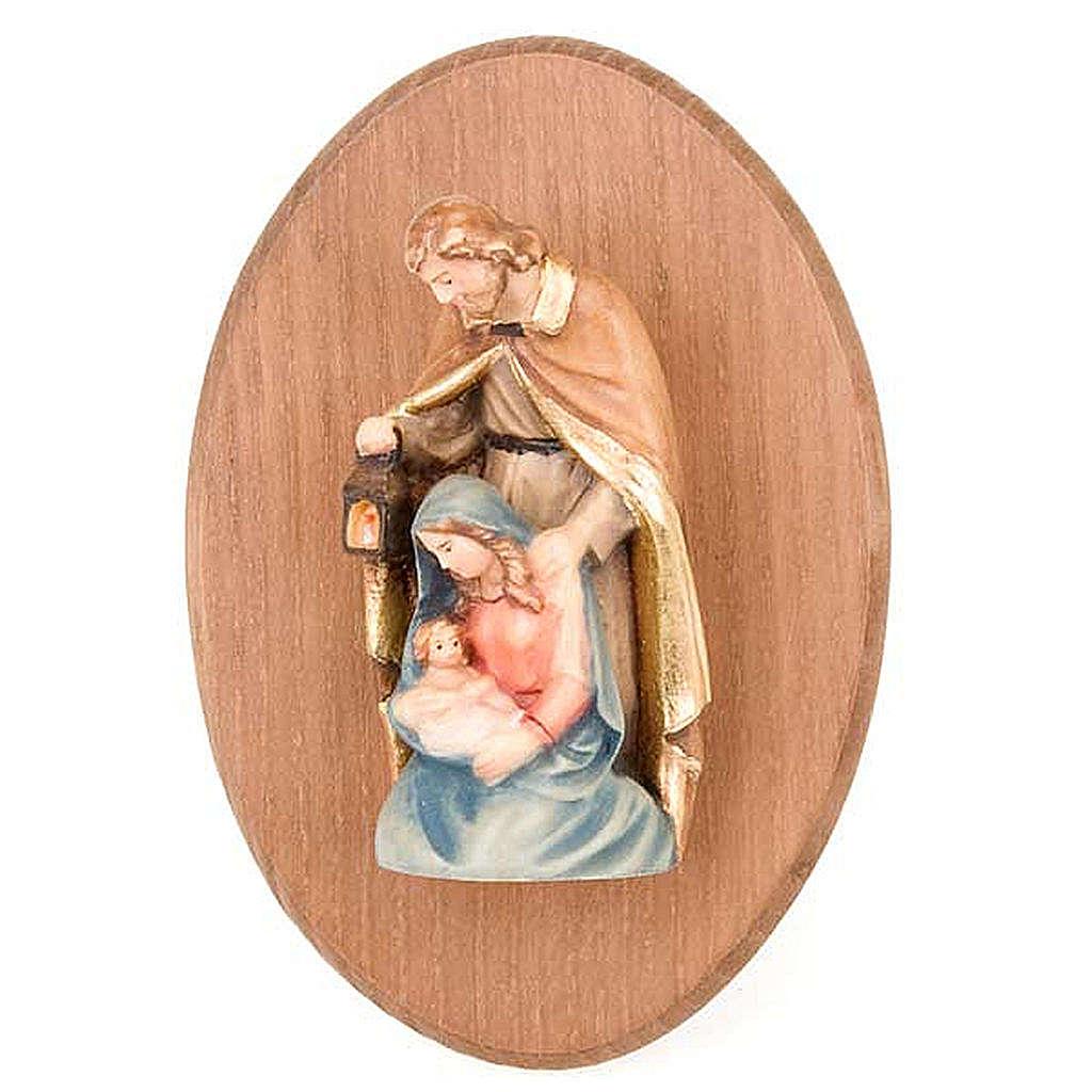 Quadretto con statua Sacra Famiglia 4
