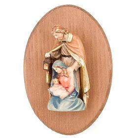 Quadretto con statua Sacra Famiglia s1