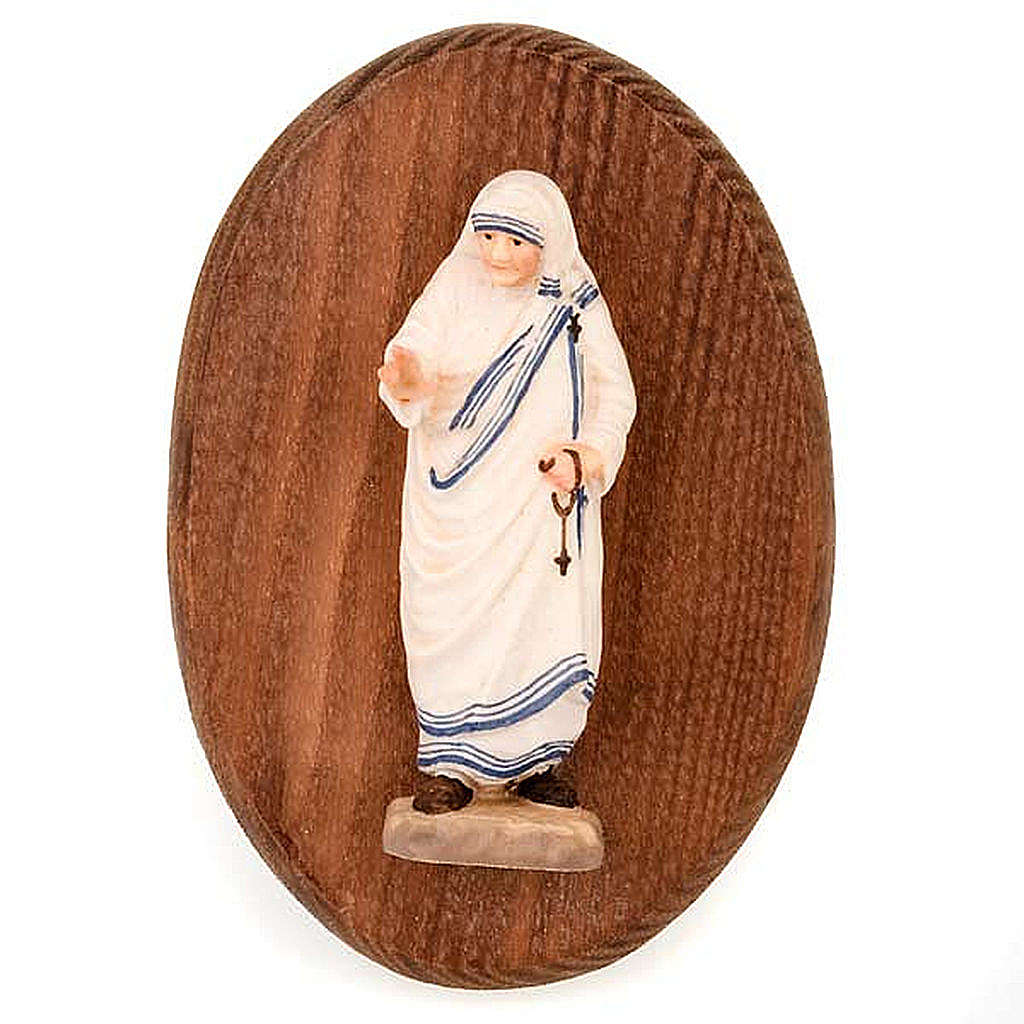 Placa con estatua Madre Teresa 4