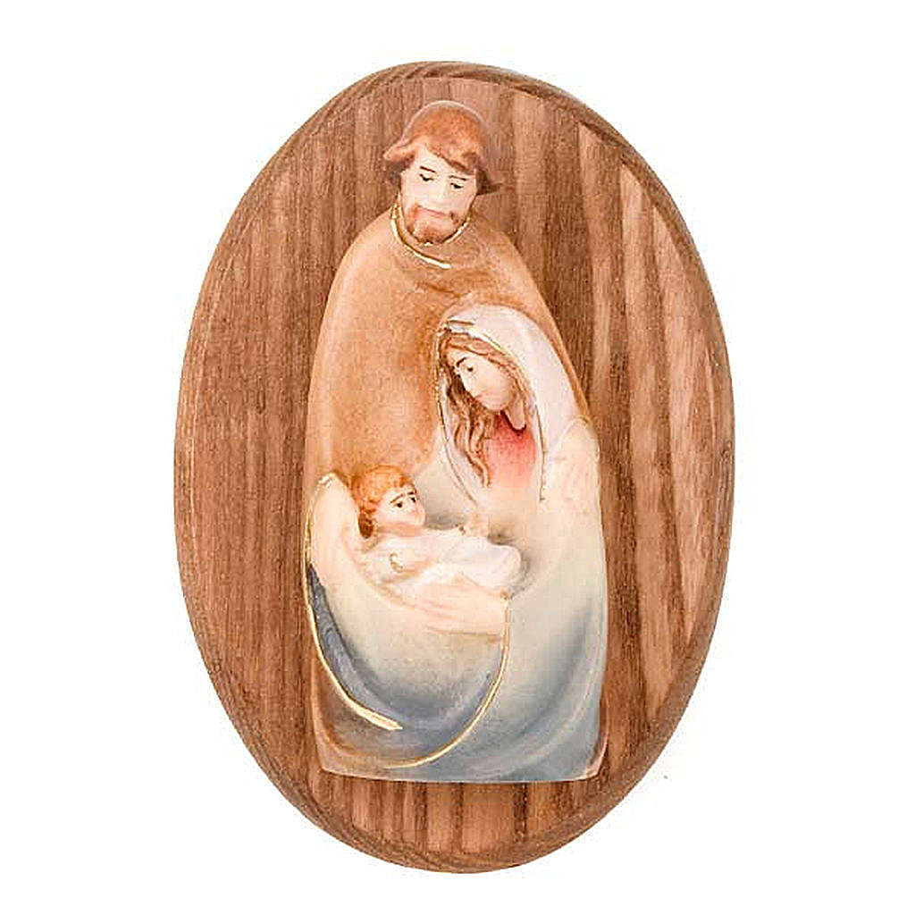 Plaque avec statue de la Sainte Famille 4
